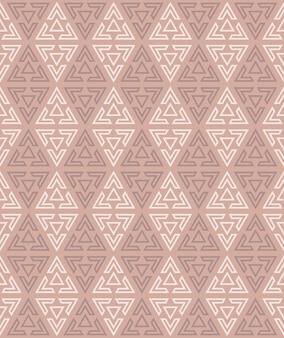 Abstracte achtergrond van naadloos driehoekig patroon.