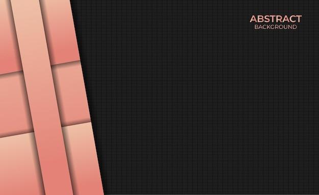 Abstracte achtergrond verloop oranje kleur ontwerpstijl