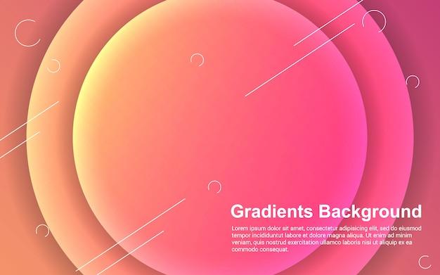 Abstracte achtergrond verlopen kleur modern design