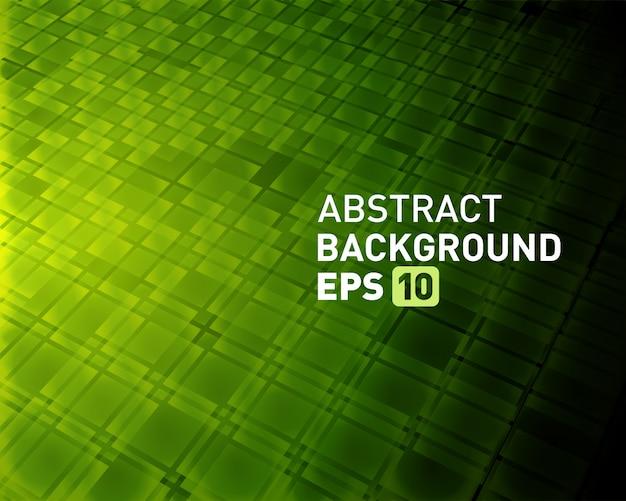 Abstracte achtergrond virtuele ruimte 3d vierkantenvormen