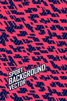 Abstracte achtergrond voor extreme jersey team, racen, fietsen, leggings, voetbal, gaming en sport livery.
