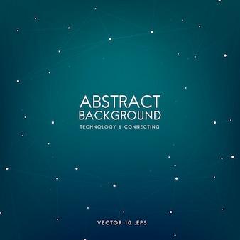 Abstracte achtergrond voor technologie in blauw