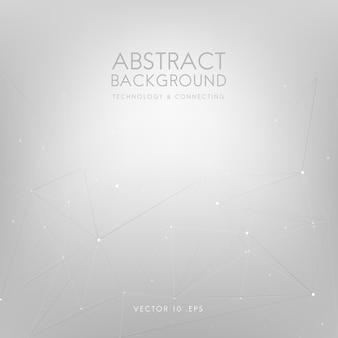 Abstracte achtergrond voor technologie in lichtgrijs