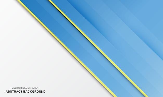 Abstracte achtergrond wit met blauwe kleur