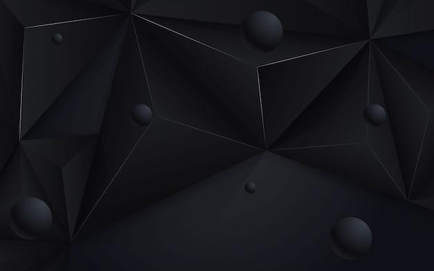 Abstracte achtergrond zwart