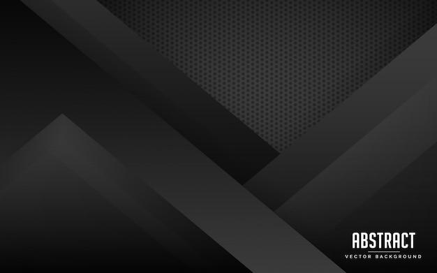 Abstracte achtergrond zwarte en grijze moderne kleur