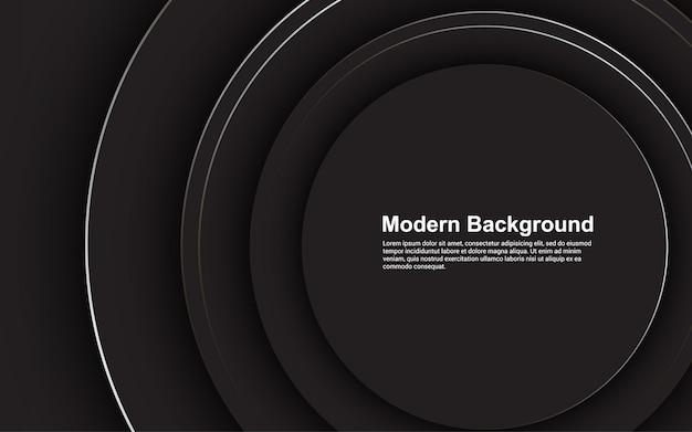 Abstracte achtergrond zwarte kleur modern concept