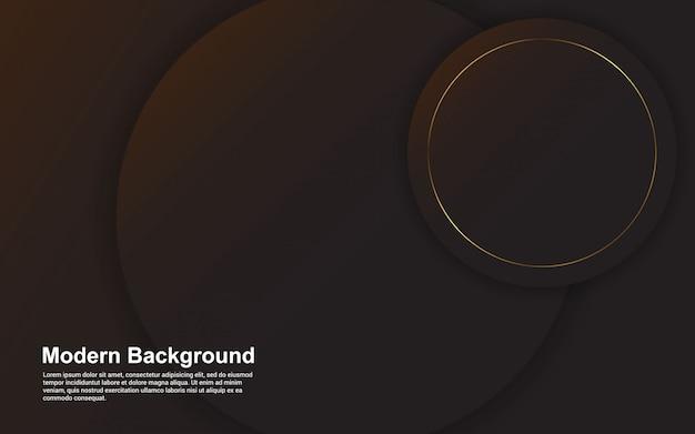 Abstracte achtergrond zwarte kleur modern design