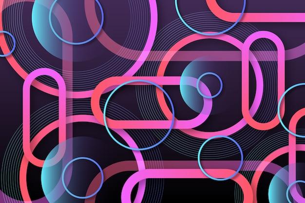 Abstracte achtergrondstijl