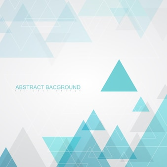 Abstracte achtergrondstructuren door turquoise driehoeken