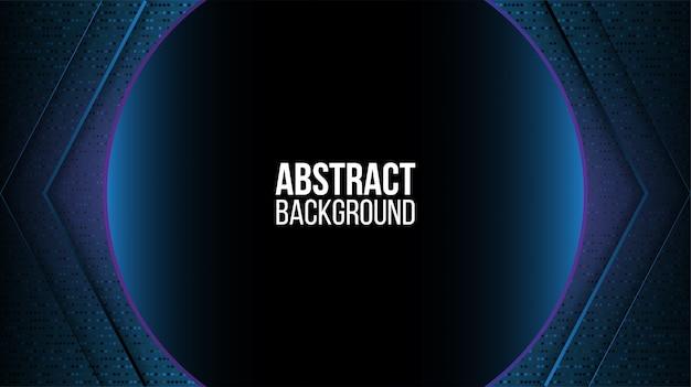 Abstracte achtergrondtechnologie donker
