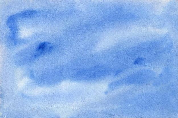 Abstracte aquarel achtergrond in hemelsblauw kleur