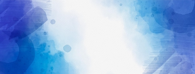 Abstracte aquarel facebook voorbladsjabloon
