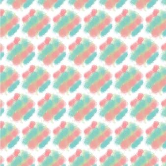 Abstracte aquarel naadloze patroon