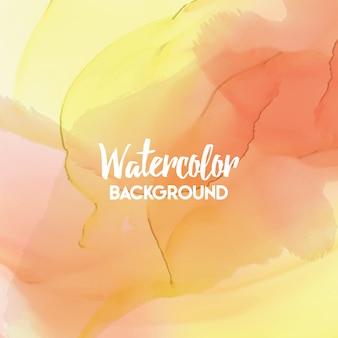 Abstracte aquarel splash multicolor watercolor drop