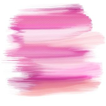 Abstracte aquarel textuur met een halftone dots overlay