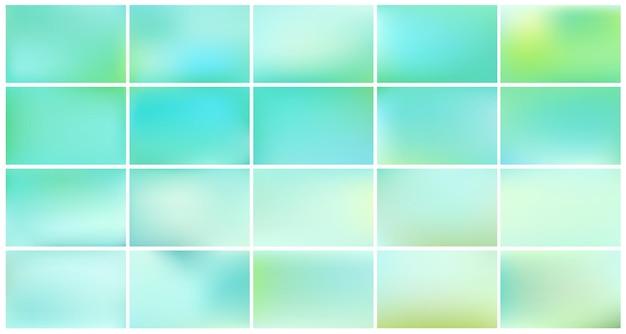 Abstracte azuurblauwe wazig verloop.