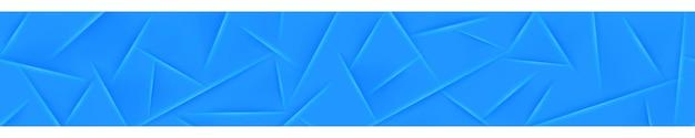 Abstracte banner in lichtblauwe kleuren