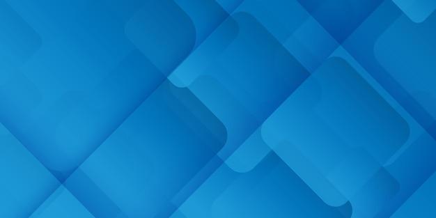 Abstracte banner met een geometrisch ontwerp Gratis Vector