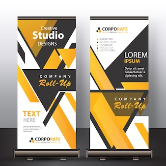Abstracte banner mock up