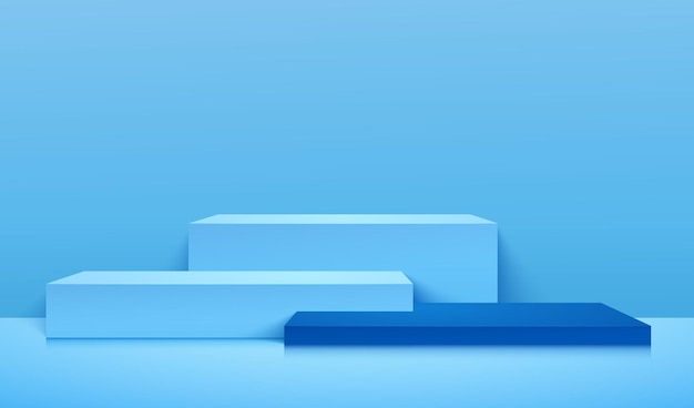 Abstracte bannerachtergrond voor product adverteren.