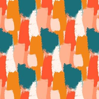 Abstracte beroerte penseelpatroon