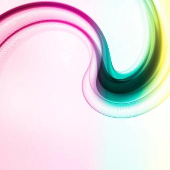 Abstracte beweging vloeiende kleur