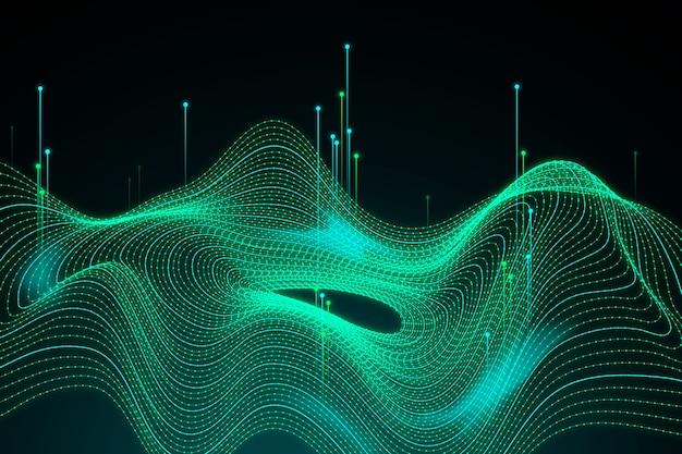 Abstracte big data concept achtergrond