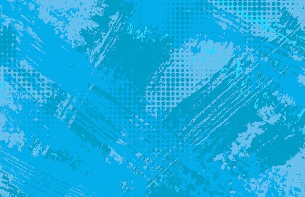 Abstracte blauwe achtergrond in grungestijl