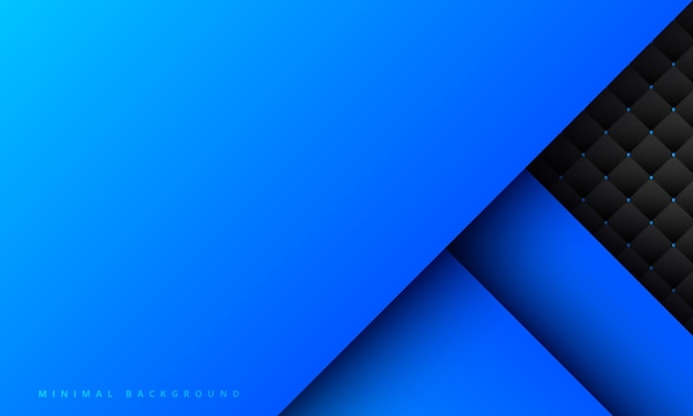 Abstracte blauwe achtergrond met creatieve kras en textuur