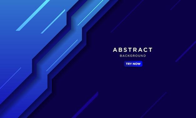 Abstracte blauwe achtergrond, modern technologieconcept