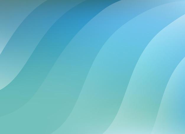 Abstracte blauwe achtergrond vectorillustratie