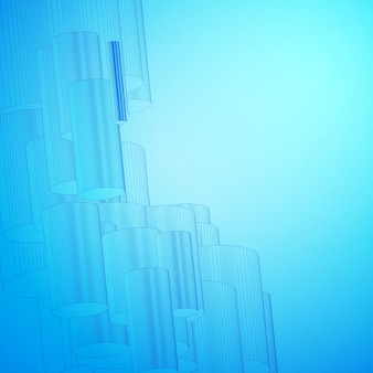 Abstracte blauwe achtergrond voor ontwerp.