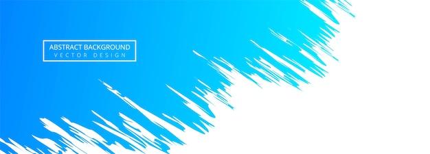 Abstracte blauwe aquarel