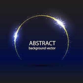 Abstracte blauwe beweging lichteffect achtergrond.