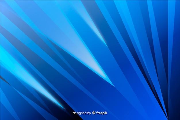 Abstracte blauwe diagonale vormenachtergrond