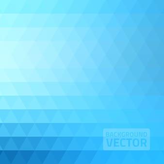 Abstracte blauwe driehoeksachtergrond
