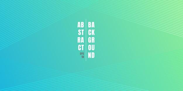 Abstracte blauwe en groene levendige kleurverloop achtergrond