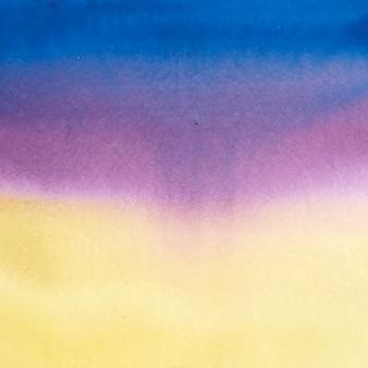 Abstracte blauwe en paarse aquarel vlek textuur