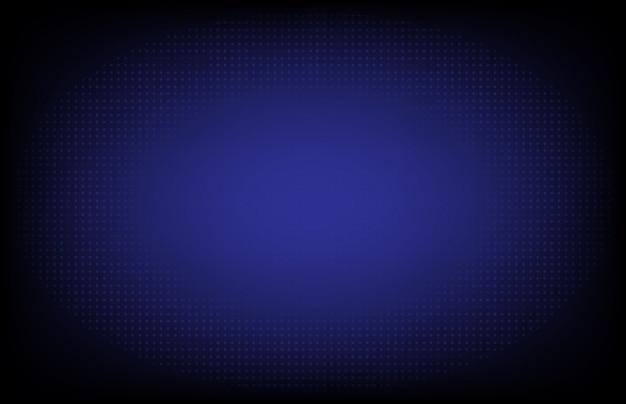 Abstracte blauwe futuristische achtergrond van dot gloeiende internetverbinding