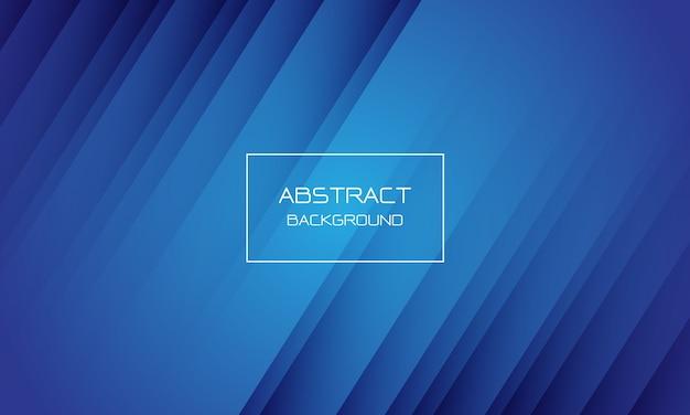 Abstracte blauwe geometrische dynamische achtergrond.