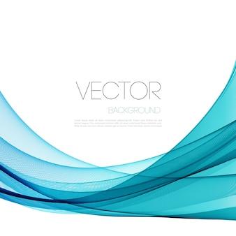 Abstracte blauwe golvenachtergrond.