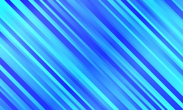 Abstracte blauwe gradiënt diagonale strepen bewegingsonscherpte achtergrond