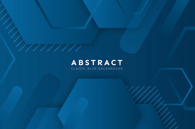 Abstracte blauwe klassieke achtergrond
