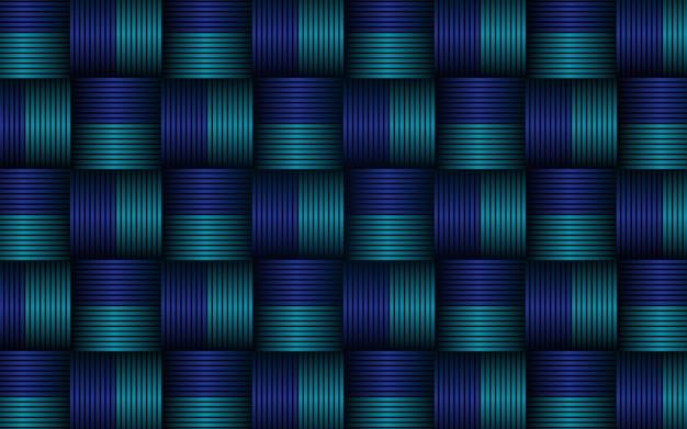 Abstracte blauwe naadloze het patroonachtergrond van textuurstrepen