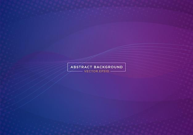 Abstracte blauwe ruimte bestemmingspagina websitebanner Premium Vector