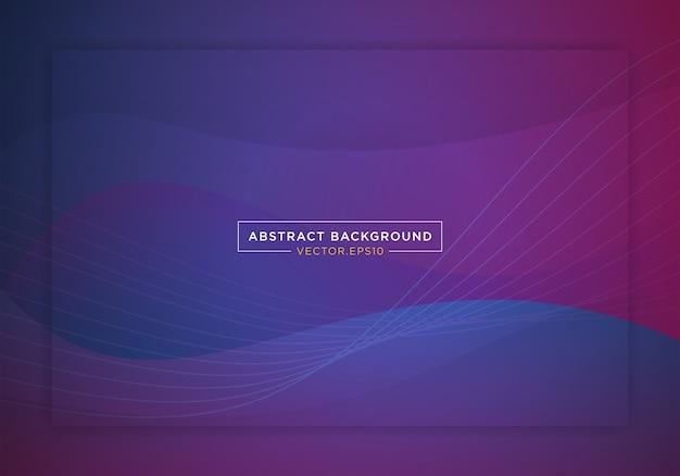 Abstracte blauwe ruimte bestemmingspagina websitebanner