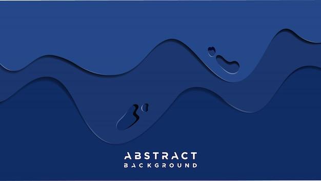Abstracte blauwe slijmachtergrond