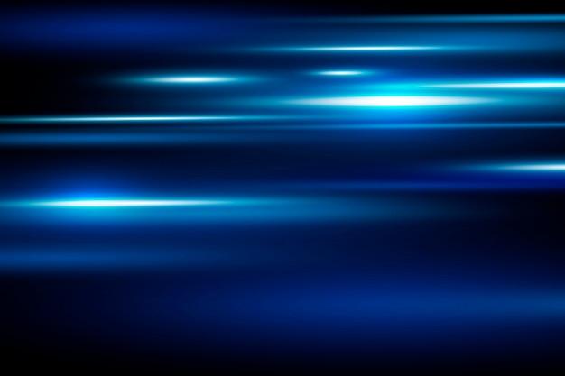 Abstracte blauwe snelheid bewegende achtergrond