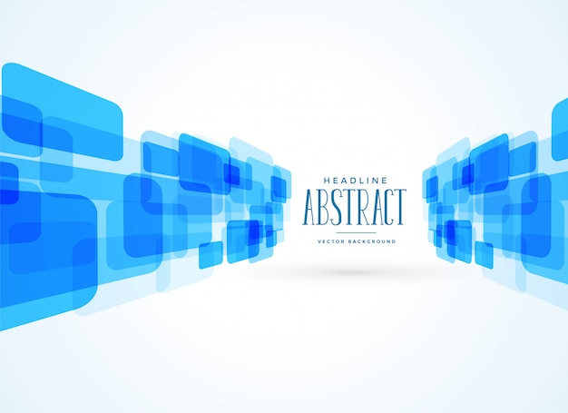 Abstracte blauwe technologie stijlachtergrond